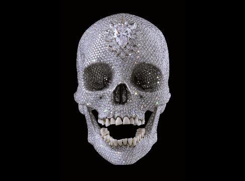 damien-hirst-skull