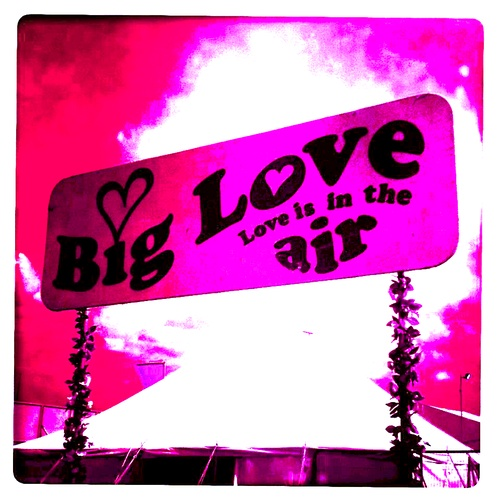 Big Love Is In The Air