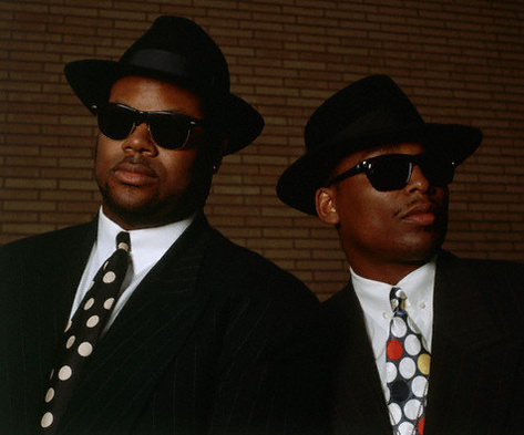 Jimmy Jam and Terry Lewis of Flyte Time Records
